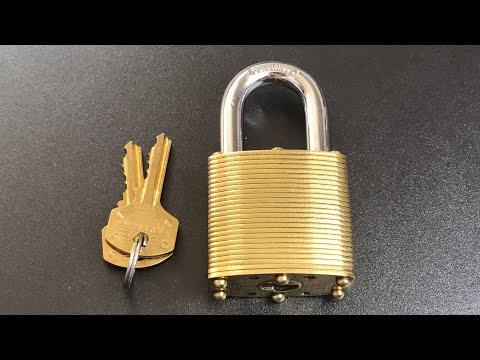[581] Commando Lock Marine Environment Padlock Picked