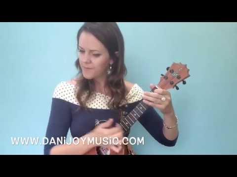 Ukulele Jazz Strums Part 22 W Dani Joy Youtube