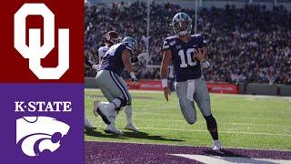 #5 Oklahoma vs Kansas State Highlights | NCAAF Week 9 | College Football Highlights