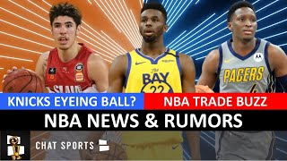 NBA Trade Rumors On Andrew Wiggins & Victor Oladipo, Latest On Giannis + Knicks Want Lamelo Ball?