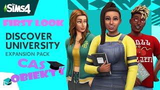 CAS, Obiekty i Miasteczko Britechester (Jestem w SZOKU)  First Look: The Sims 4 Uniwersytet
