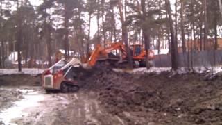 видео Вывоз грунта в Москве и области