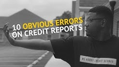 The fastest way to get errors deleted from your credit report