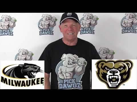 Oakland vs Milwaukee 2/21/20 Free College Basketball Pick and Prediction CBB Betting Tips