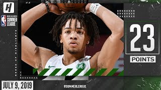 Carsen Edwards Full Highlights Celtics Vs Nuggets (2019.07.09) Summer League - 23 Points!