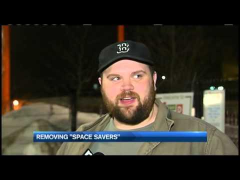 Katelyn Flint 9p Boston Parking Space Savers