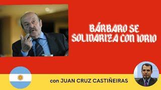 Censura a Ricardo Iorio habla Julio Bárbaro
