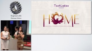 Team HOME - TechLadies Graduation Ceremony