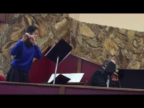 """As the deer"" flute and piano only at temple baptist church"