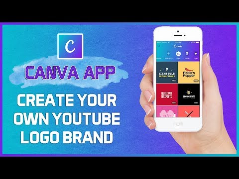 How to Create Your Own Brand Logo in Canva App | Without Photoshop - FREE! Video Tutorial 2017