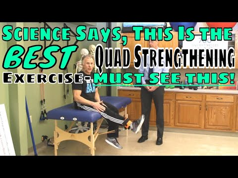 Science Says This Is the BEST Quad Strengthening ExerciseMUST SEE THIS!