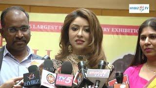 Payal Ghosh actress at Jewellery Expo 2016 Taj Krishna Hyderabad - hybiz