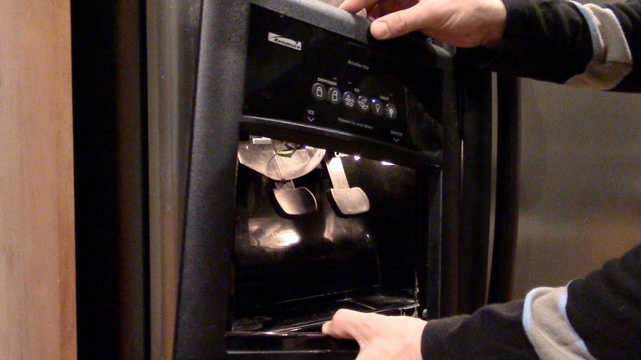 Ice maker or water dispenser not working  Refrigerator repair  Kenmore Whirlpool  YouTube