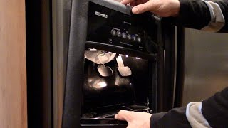 Ice maker or water dispenser not working - Refrigerator repair - Kenmore Whirlpool