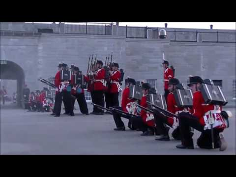 Fort Henry Sunset Ceremony July 27th 2016 Part 2 of 3