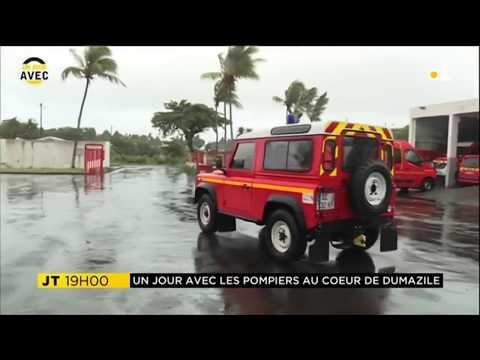 Les pompiers au coeur de Dumazile