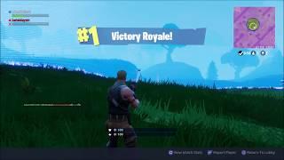 Fortnite Duo Win - 1 Health Clutch