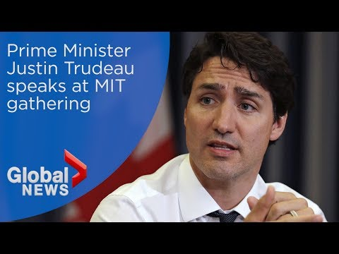 WATCH LIVE: Prime Minister Justin Trudeau talks tech at MIT