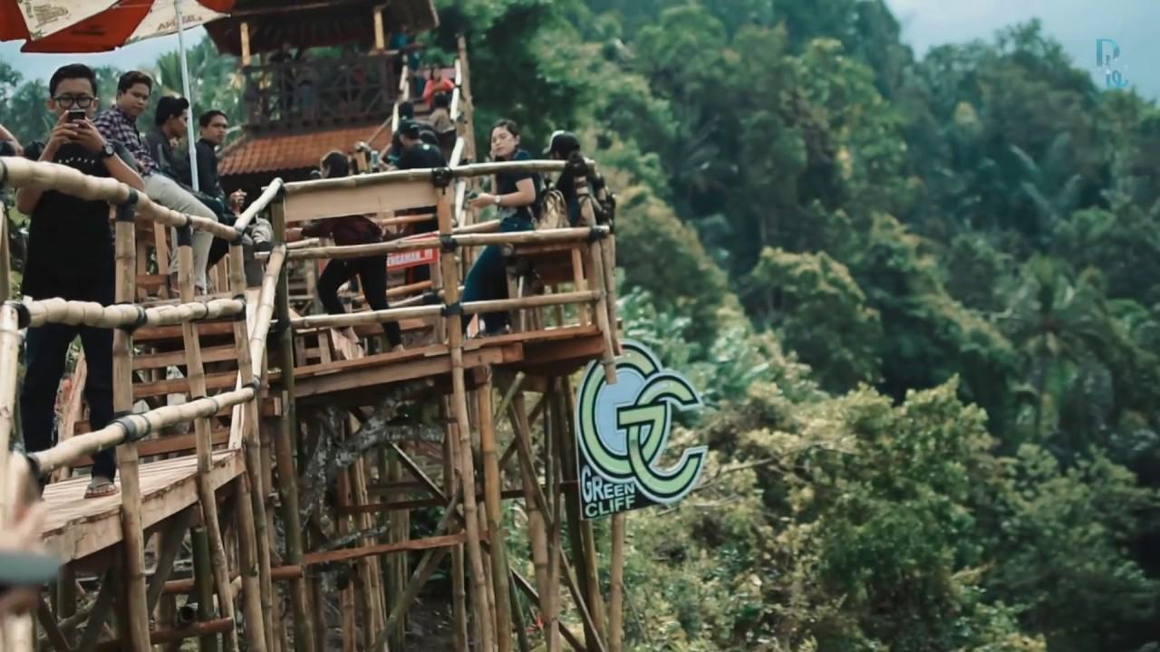 Obyek Wisata Jembrana Green Cliff Youtube