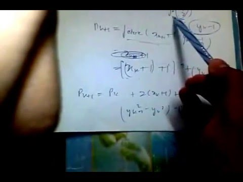 Bresenham Line Drawing Algorithm Derivation : Bresenham mid point circle algorithm youtube
