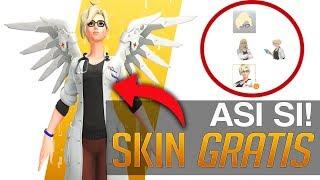 ¡asÍ SÍ Blizzard Como Conseguir La Skin Legendaria Doctora Ziegler De Mercy Y Los Drops