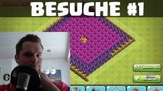 Clash of Clans || NEUE BESUCHE TEIL 1 || Let's Play COC [Deutsch/German HD]