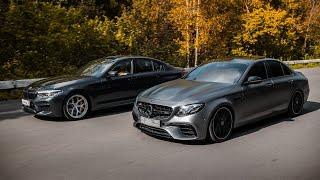 900 л.с. Mercedes-AMG E63s vs 840 л.с. BMW M5 F90. Сладкая месть
