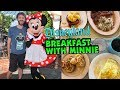 Disneyland Character Breakfast with Minnie & Friends at Plaza Inn   Vlogmas Day 6