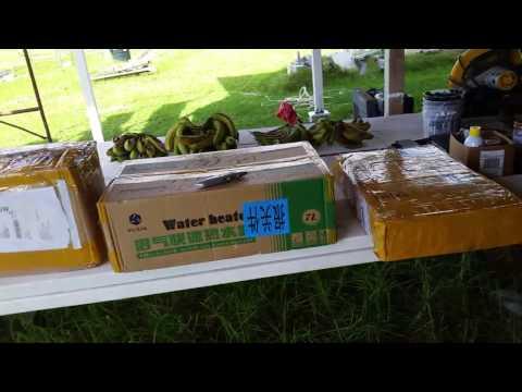 Hawaii's First Bio-Gas Hot Water Heater Biogas-Digester PUXIN