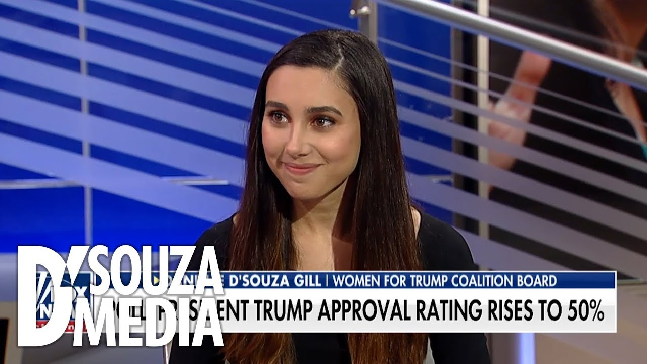 Danielle D'Souza Gill shows women are supporting Trump in record numbers