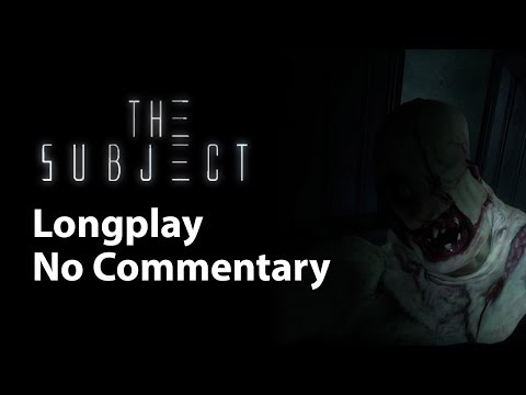 The Subject   Full Game   No Commentary