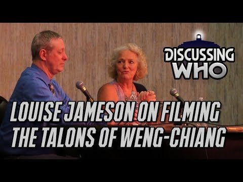 Louise Jameson on The Talons Of WengChiang at WHOlanta 2018  Leela  Discussing Who