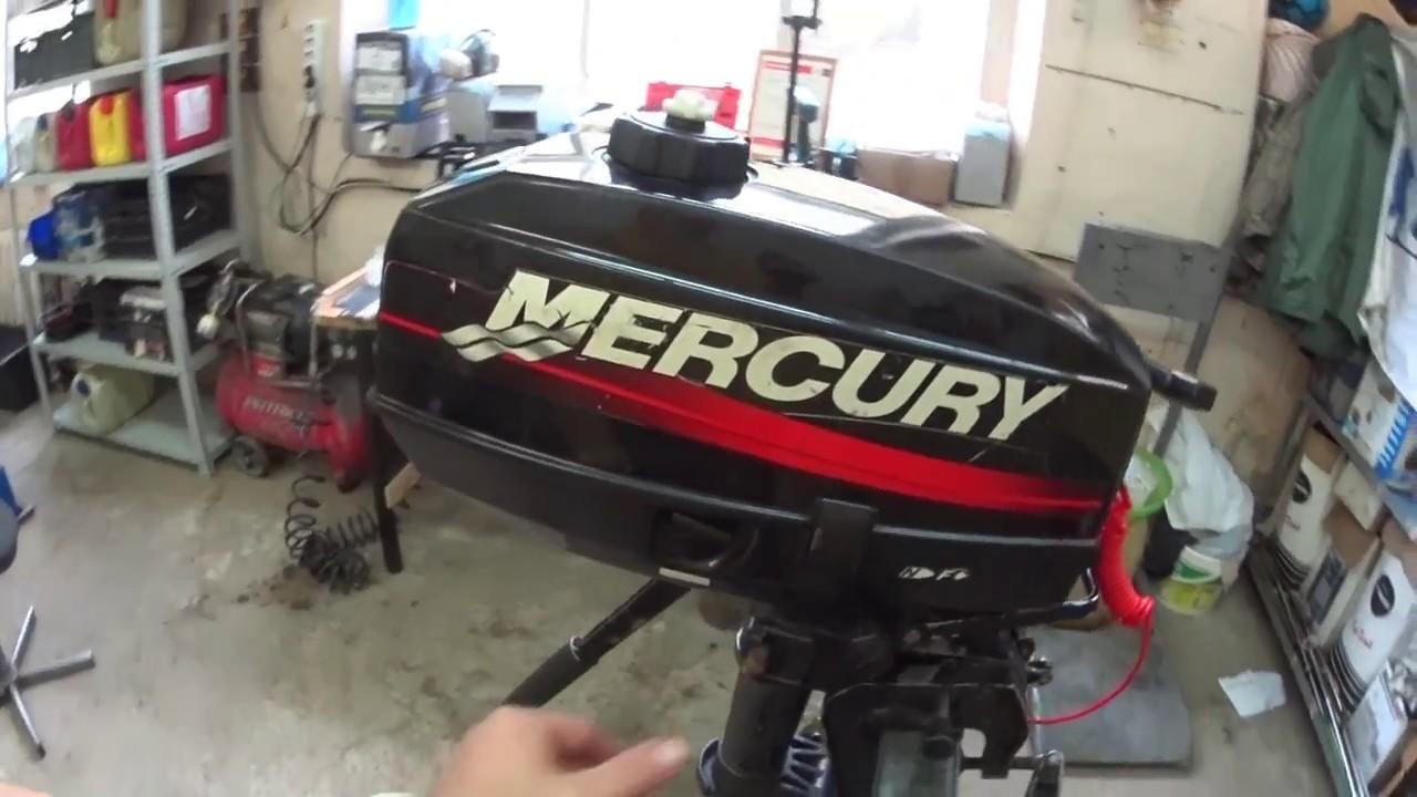видео обзор лодочного мотора меркури 5