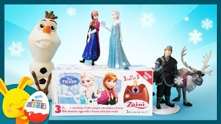 La Reine des neiges - Œufs surprises -  Unboxing surprise eggs frozen –Titounis
