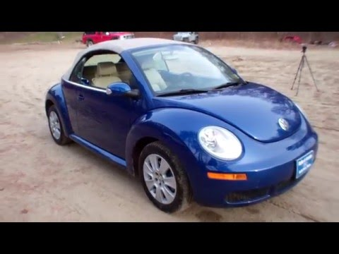 Best Price 2008 VW Beetle Convertible for Sale near Portland Maine