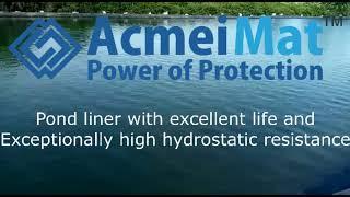 AcmeiMat Pondliner Installed