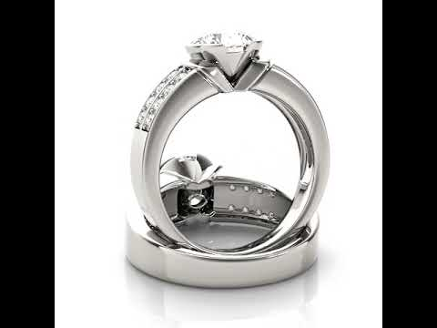 Pavé Engagement Rings - Jewelry Exchange Dallas
