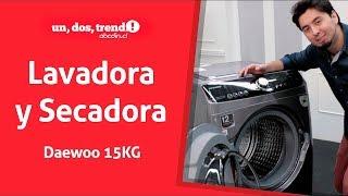 Review Lavadora Secadora Daewoo 15/9KG