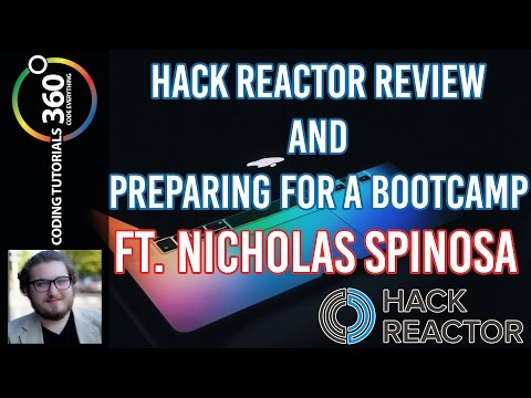 Hack Reactor Review and How to Prepare for a Bootcamp ft. Nicholas Spinosa