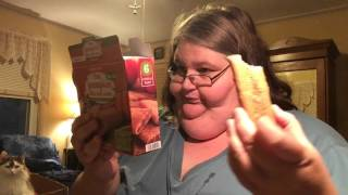 Trying snacks and chatting: Oct. 5, 2015