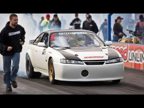 INSANE 240sx on 85lbs of BOOST! (2000hp)