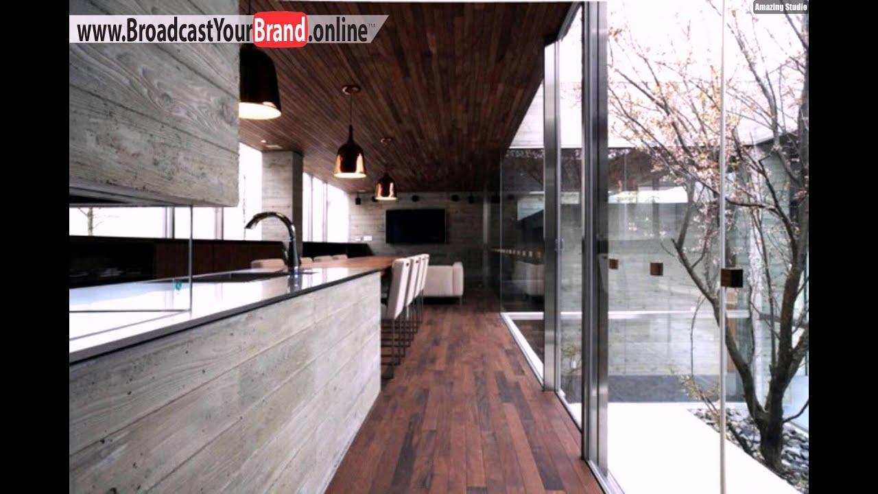 Fußbodenbelag Holz ~ Zeder holz fußboden belag küche youtube