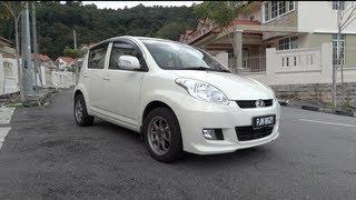 2010 Perodua MyVi EZi Start-Up, Full Vehicle Tour, and Quick Drive