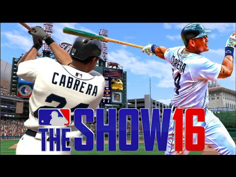 Miguel Cabrera Stand Up Inside The Park Home Run | Tigers | MLB The Show 16 Challenge
