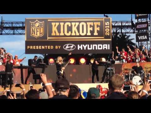 NFL Kickoff 2015 Ellie Goulding - Burn