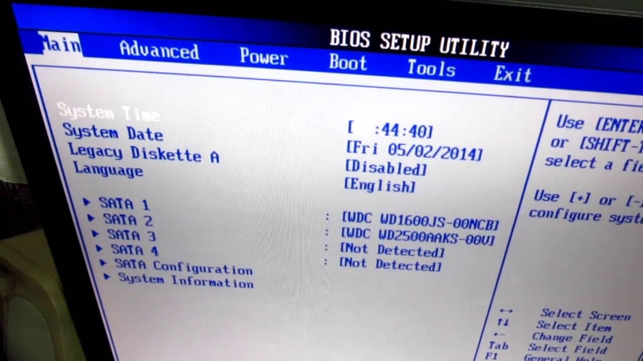 How To Enable S M A R T For Hard Drives Asus P5k Self