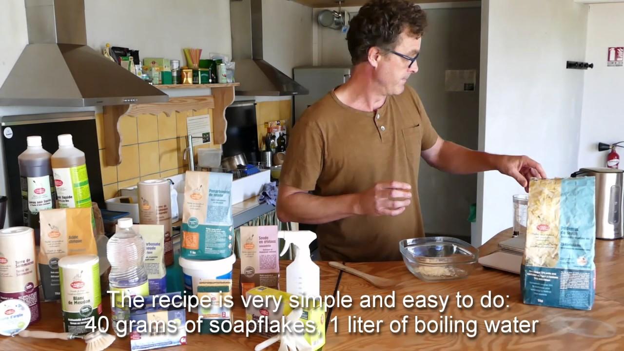 video recette droguerie eco ecodis