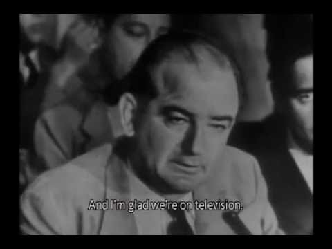The Downfall of Joseph McCarthy (Compare to Donald Trump)