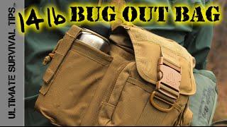 DIY - 14 lb CORE - Bug Out Bag / Survival Kit / Get Home Bag - Bug Out Basics
