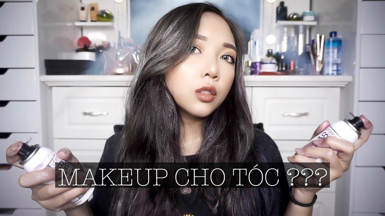Thử Đổi Màu Tóc Không Cần Tẩy ? – Makeup Cho Tóc , Nhuộm Tóc Tạm Thời Trên Tóc Đen   Con Thỏ
